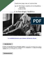 Maestria Psicologia Analitica
