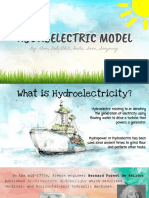 physics water hydroelectric model