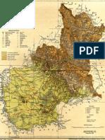 Bereg vármegye térképe