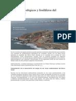 Aspectos Geológicos y Fosilíferos Del Morro