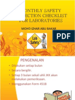 Monthly Safety Inspection Checklist-izhar
