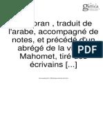 Alcorão Tradução Francesa 2