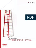 The CEOs Guide to Types of Growth Capital