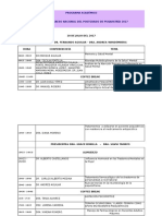 Programa Congreso Nuevos Retos en Salud Mental 2017.1