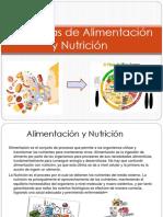 Alimentacion y Nutricion Diapositivas