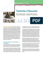 Nutricion y Educacion