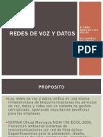 UNIDAD VII 7.3 REDES DE VOZ Y DATOS.pptx