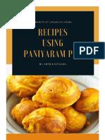 Recipes using Paniyaram Pan