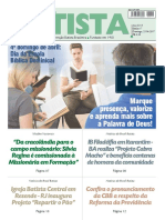O Jornal Batista Nº 17 - 23.04.2017
