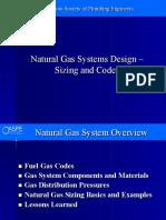 Natural Gas Piping Design