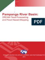 DREAM Flood Forecasting and Flood Hazard Mapping for Pampanga River Basin Baka Lang Magamit Hahaha