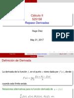 repaso derivadas