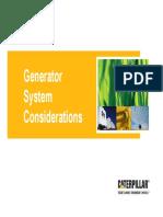 Generator Systems Presentation