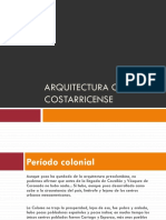 Arquitectura Colonial Costarricense