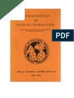 Revista Peruana de Derecho Internacional. Tomo LIII Setiembre - Diciembre  2003  N° 123
