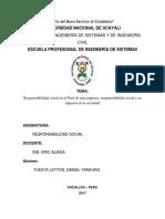 Responsabilidad Social en El Perú de Una Empresa