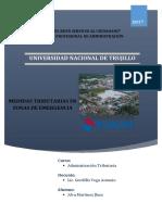 Medidas Tributarias - Desastres Naturales