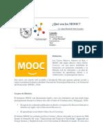 Qué es un MOOC