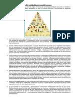 La Pirámide Nutricional Peruana