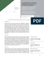 La Investigación en Educación Ambiental en América Latina Un Análisis Bibliométrico