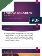 Daniel1_1-21_SANTAPAN MENAJISKAN.pptx