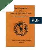 Revista Peruana de Derecho Internacional. Tomo LIV Octubre - Diciembre 2004 Nº 126