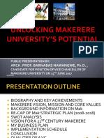 Makerere VC Candidate Presentation Prof Barnabas Nawangwe 15thJune2017[1]