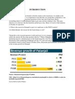BRM Patanjali Report