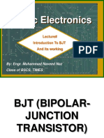 Intro to BJT and its working