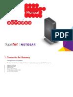 Supernet Instruction Manual