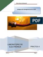 Practica 4 SCR Lampara de Emergencia