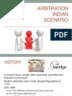 Arbitration Indian Scenario