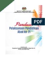 Panduan Pelaksanaan Pendidikan Abad Ke 21 (Buku)