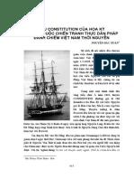 Tàu Constitution Của Hoa Kỳ Mở Đầu Cuộc Chiến Tranh Của Pháp Đánh Chiếm Việt Nam - Nguyễn Đắc Xuân