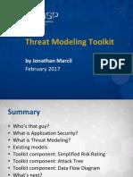Threat Modeling Tookit - OWASP
