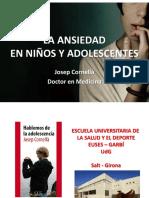 La Ansiedad en Niños y Adolescentes