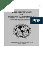 Revista Peruana de Derecho Internacional TOMO LVIII ENERO - ABRIL 2008 Nº 137