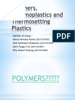 Polymers, Thermoplastics and Thermosetting Plastics.pptx