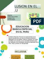 1. Inclusion en El Peru