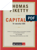 Thomas Piketty-Capitalul in Secolul Al XXI-lea-Editura Litera ( Mai 2015)
