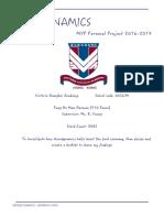 fung ho man herman final written report
