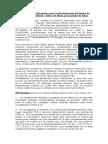 Metodologia Determinación de Work Index