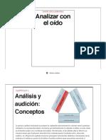 Analizar Con El Oido  - Daniel Roca Arencibia