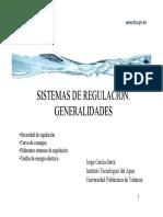 Sistemas de Regulacion Generalidades[1]