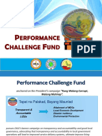 PCF 2016 Milestones and Guidelines
