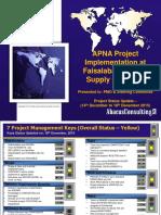 FESCO_Project Status Report-151218