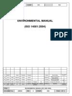 EM0001 Environmental Manual Rev A