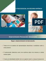 Desenvolvimento Infantil Aula 05 Segunda Infância Desenvolvimento Psicossocial