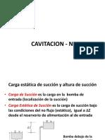 CAVITACION - NPSH