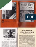 Yoga Life March 1978 Swamiji's 50th Birthday Celebration.